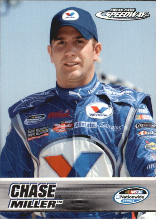 2008 Press Pass Speedway #43 Chase Miller NNS RC