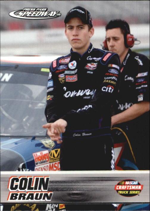 2008 Press Pass Speedway #51 Colin Braun CTS RC