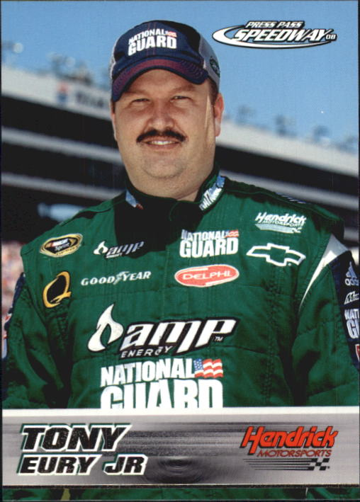 2008 Press Pass Speedway #55 Tony Eury Jr. RC