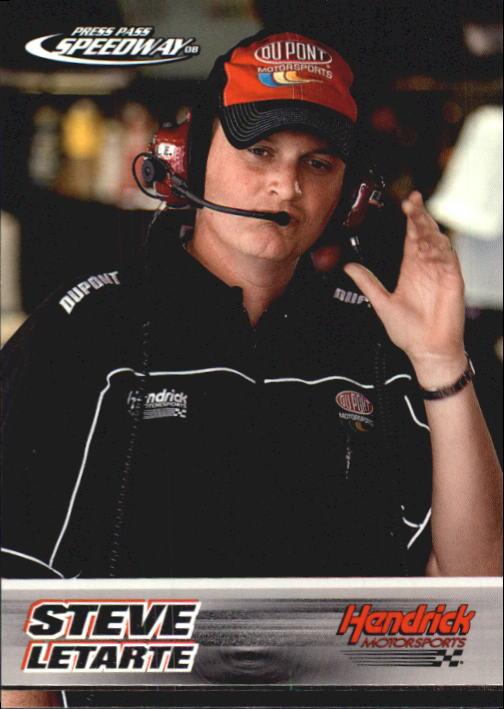 2008 Press Pass Speedway #57 Steve Letarte RC
