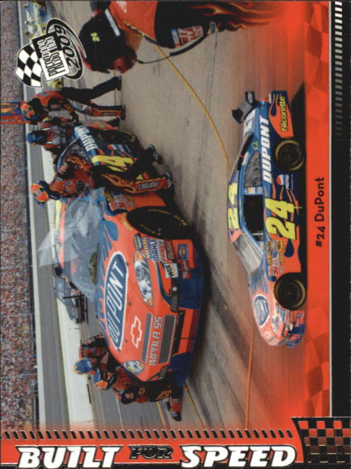 2009 Press Pass #55 Jeff Gordon's Car BFS