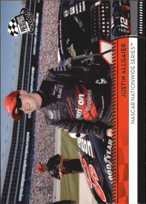 2009 Press Pass #156 Justin Allgaier NNS RC