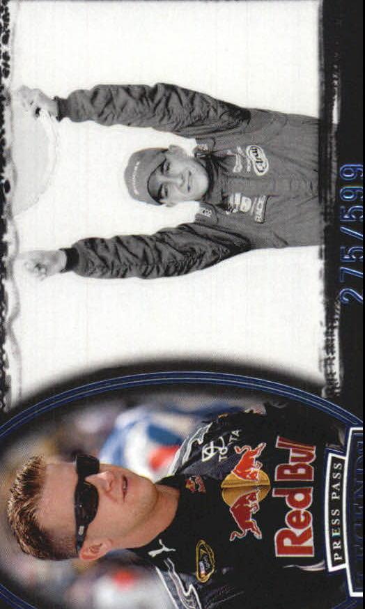 2008 Press Pass Legends Blue #67 A.J. Allmendinger