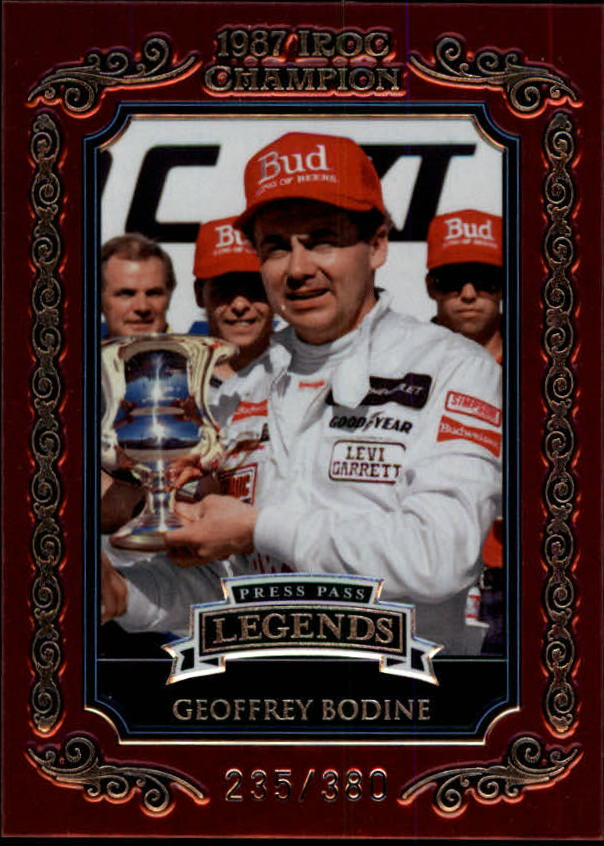2008 Press Pass Legends IROC Champions #I9 Geoffrey Bodine