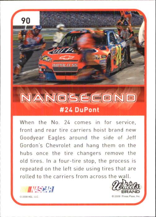 2009 Element #90 Jeff Gordon's Car N back image
