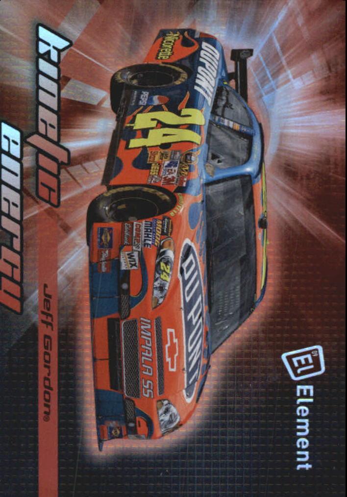 2009 Element Kinetic Energy #KE2 Jeff Gordon
