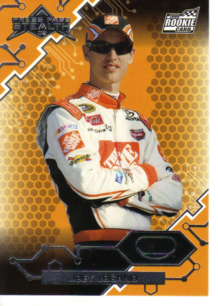 2009 Press Pass Stealth #20 Joey Logano RC