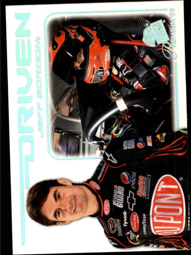 2009 Press Pass Premium #63 Jeff Gordon D