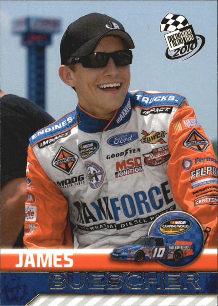 2010 Press Pass #55 James Buescher CWTS RC