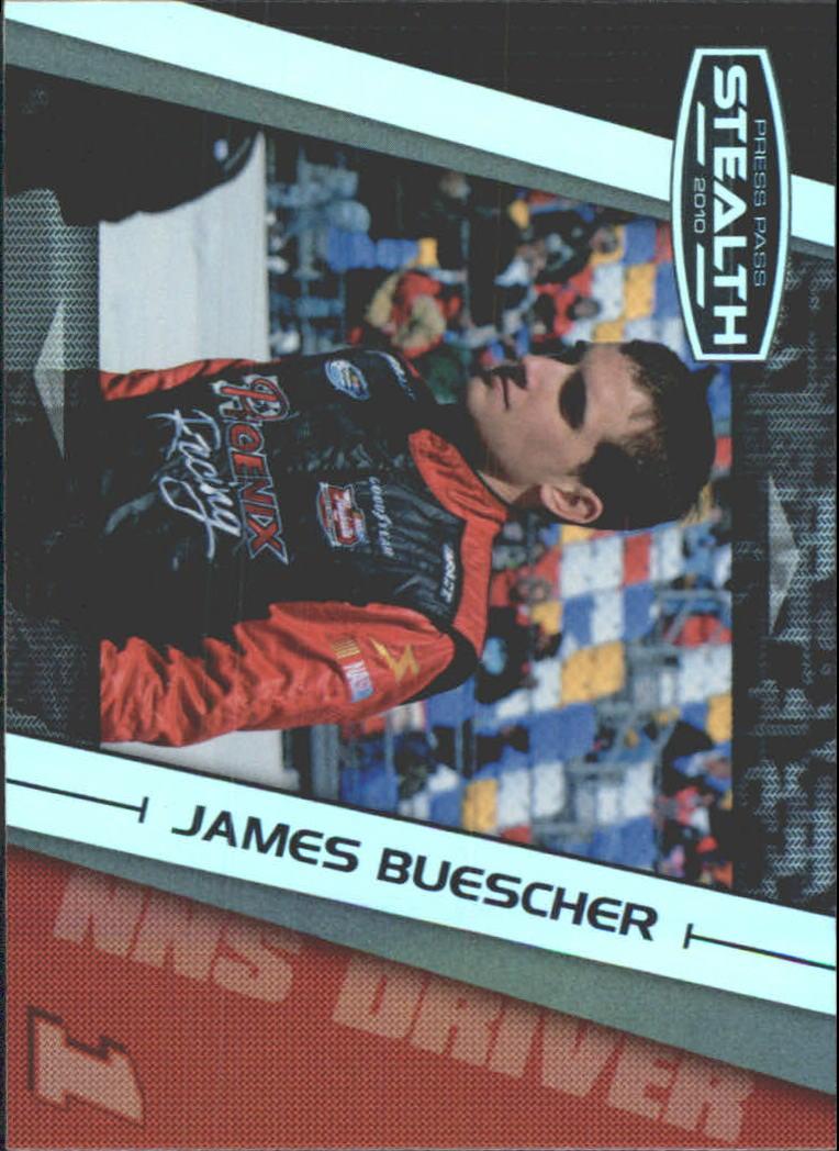2010 Press Pass Stealth #39 James Buescher NNS RC