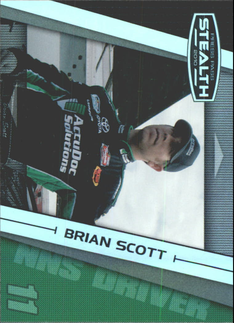 2010 Press Pass Stealth #42 Brian Scott NNS RC
