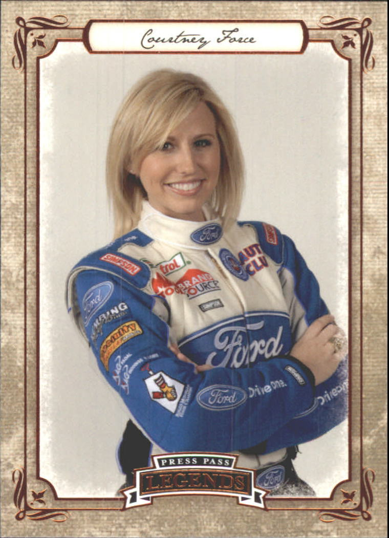 2010 Press Pass Legends #44 Courtney Force RC