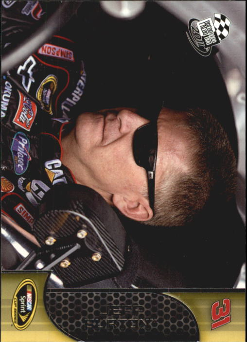 2011 Press Pass #5 Jeff Burton