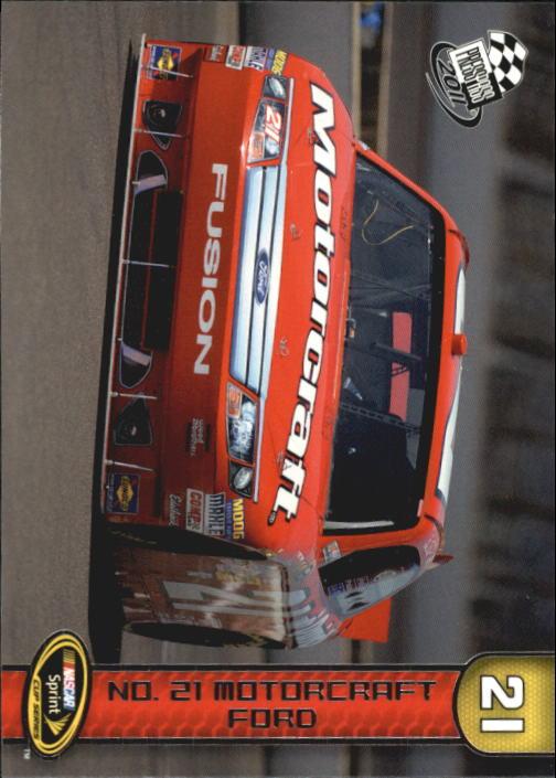 2011 Press Pass #65 Bill Elliott's Car
