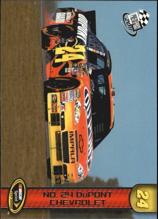 2011 Press Pass #66 Jeff Gordon's Car