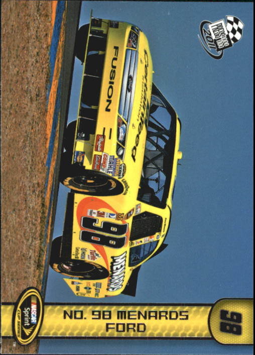 2011 Press Pass #80 Paul Menard's Car