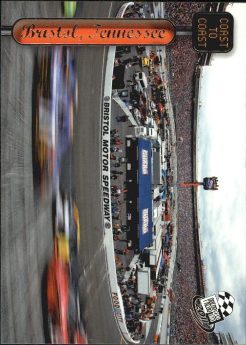 2011 Press Pass #123 Stewart/Waltrip's Cars Bristol CC