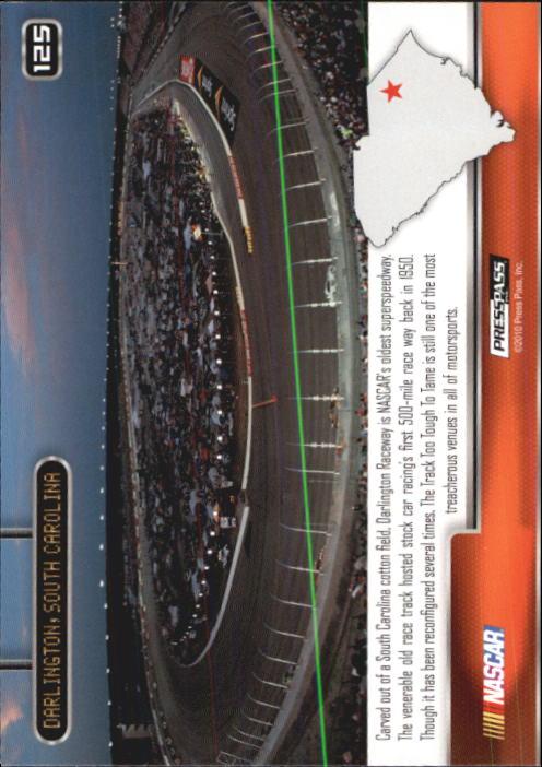 2011 Press Pass #125 Keselowski/Burton's Cars DARL back image