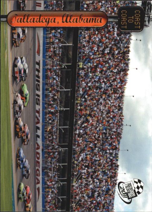 2011 Press Pass #131 Jr/Martin/Reut/Ragan's Cars TALL