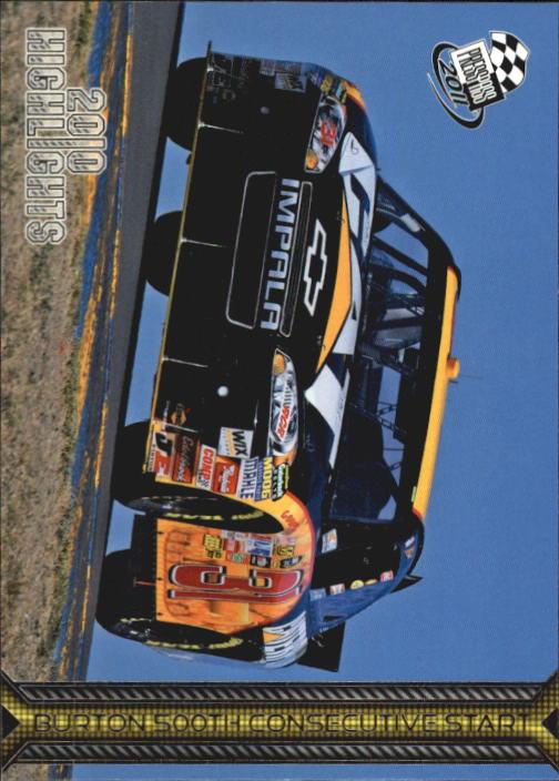 2011 Press Pass #166 Jeff Burton HL