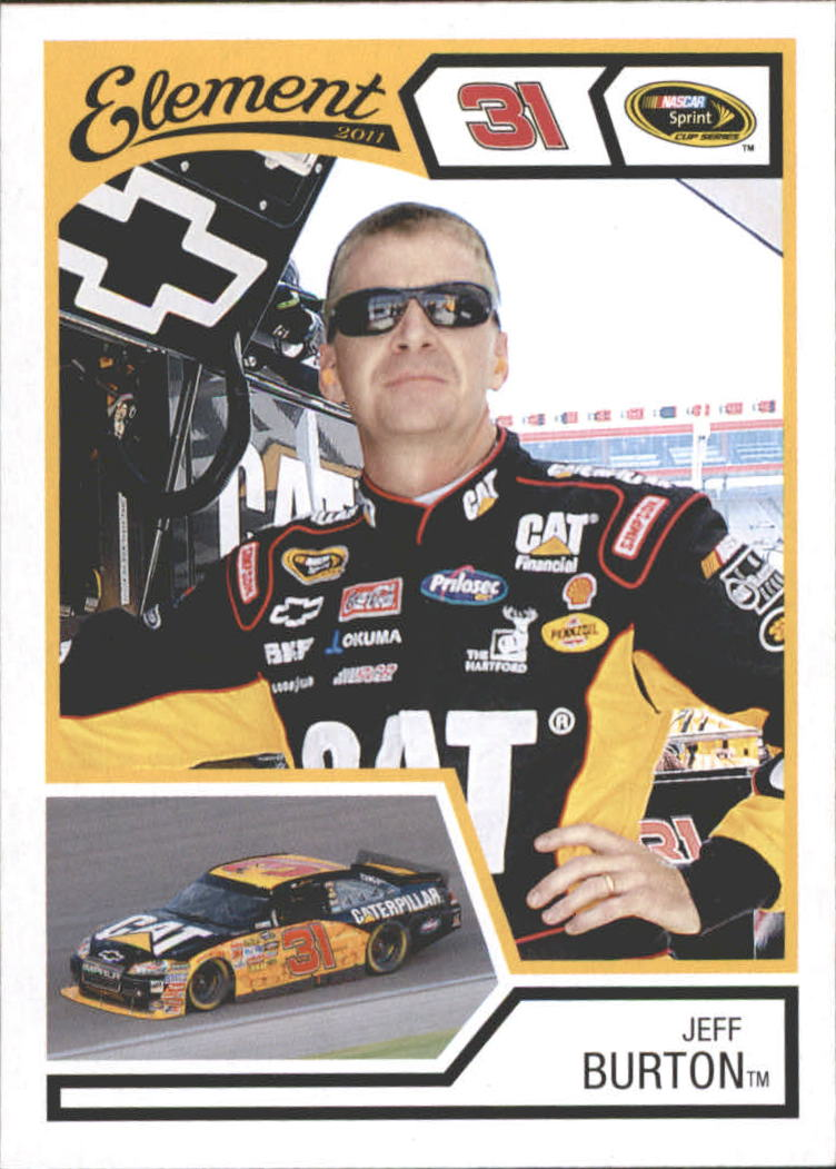 2011 Element #5 Jeff Burton