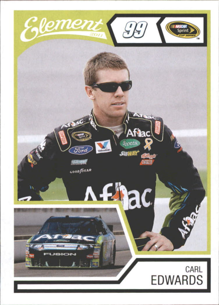 2011 Element #9 Carl Edwards
