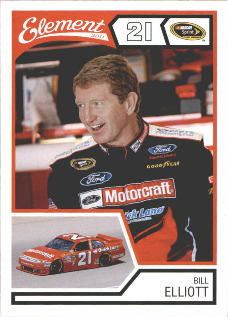 2011 Element #10 Bill Elliott