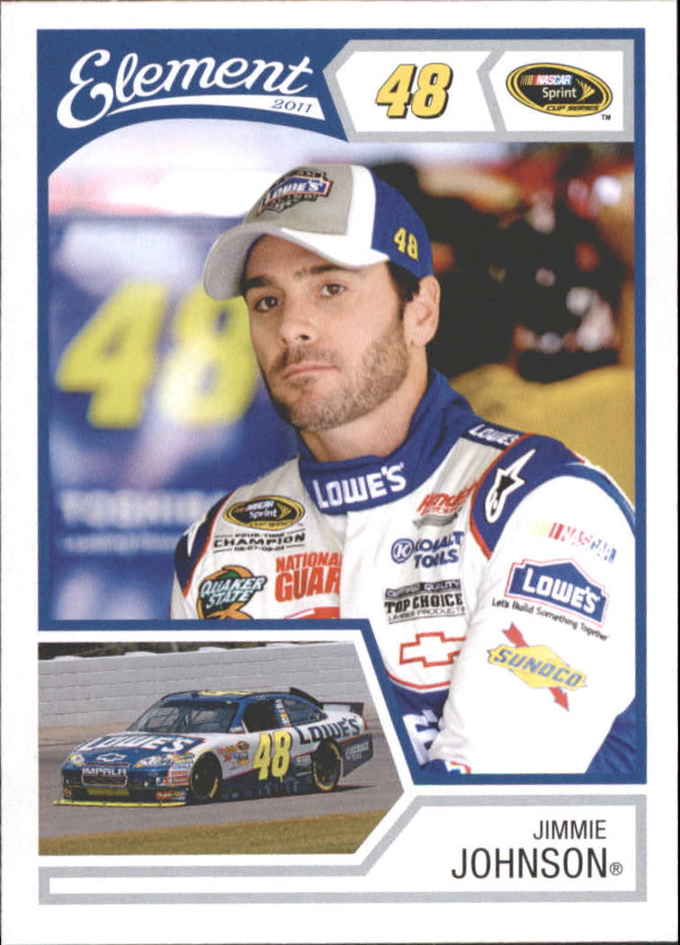 2011 Element #15 Jimmie Johnson