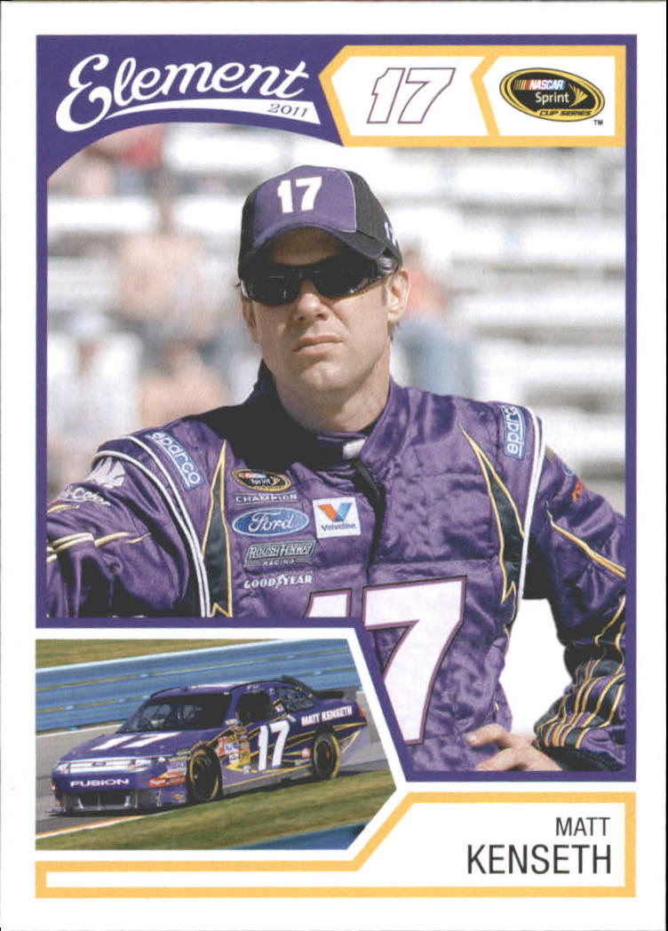2011 Element #17 Matt Kenseth