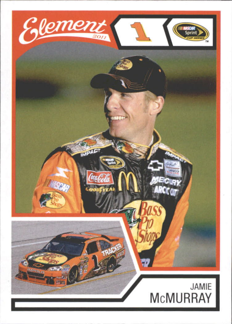 2011 Element #23 Jamie McMurray