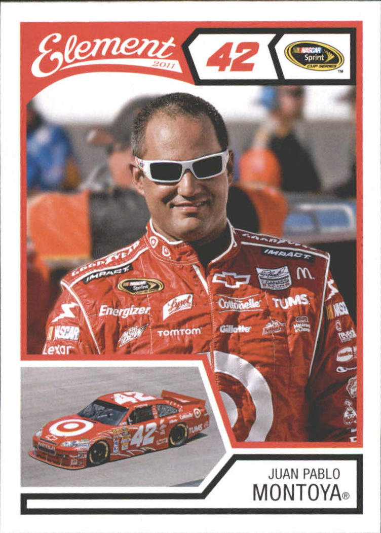 2011 Element #24 Juan Pablo Montoya