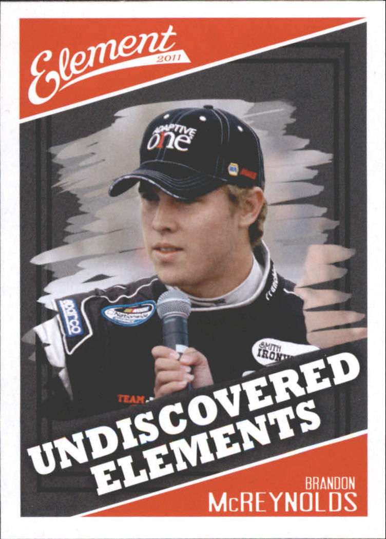 2011 Element #96 Brandon McReynolds UE RC