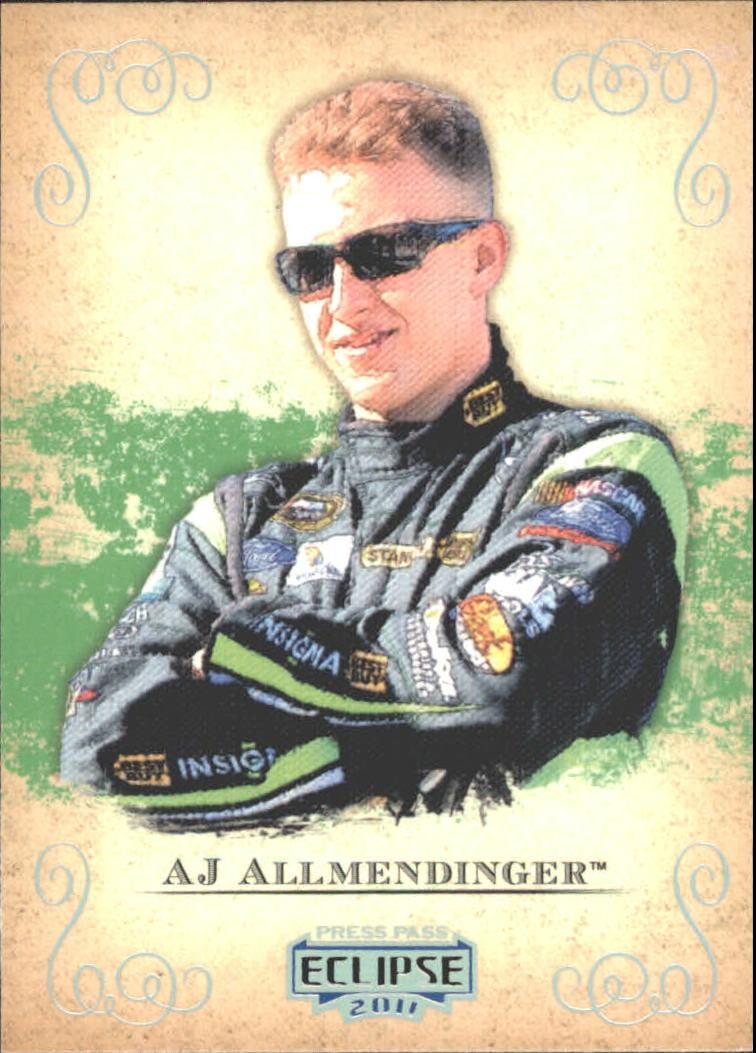 2011 Press Pass Eclipse #1 A.J. Allmendinger