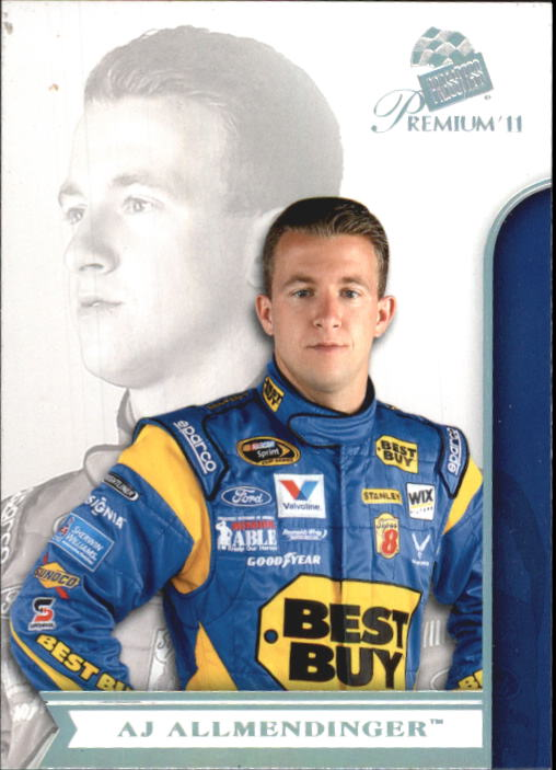 2011 Press Pass Premium #1 A.J. Allmendinger