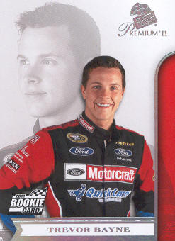 2011 Press Pass Premium #3A Trevor Bayne CRC