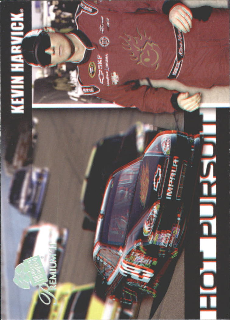 2011 Press Pass Premium Hot Pursuit 3D #HP2 Kevin Harvick
