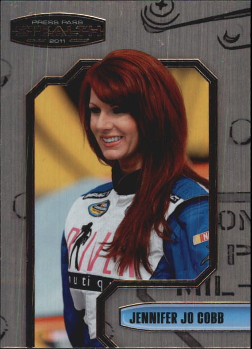 2011 Press Pass Stealth #63 Jennifer Jo Cobb NNS RC