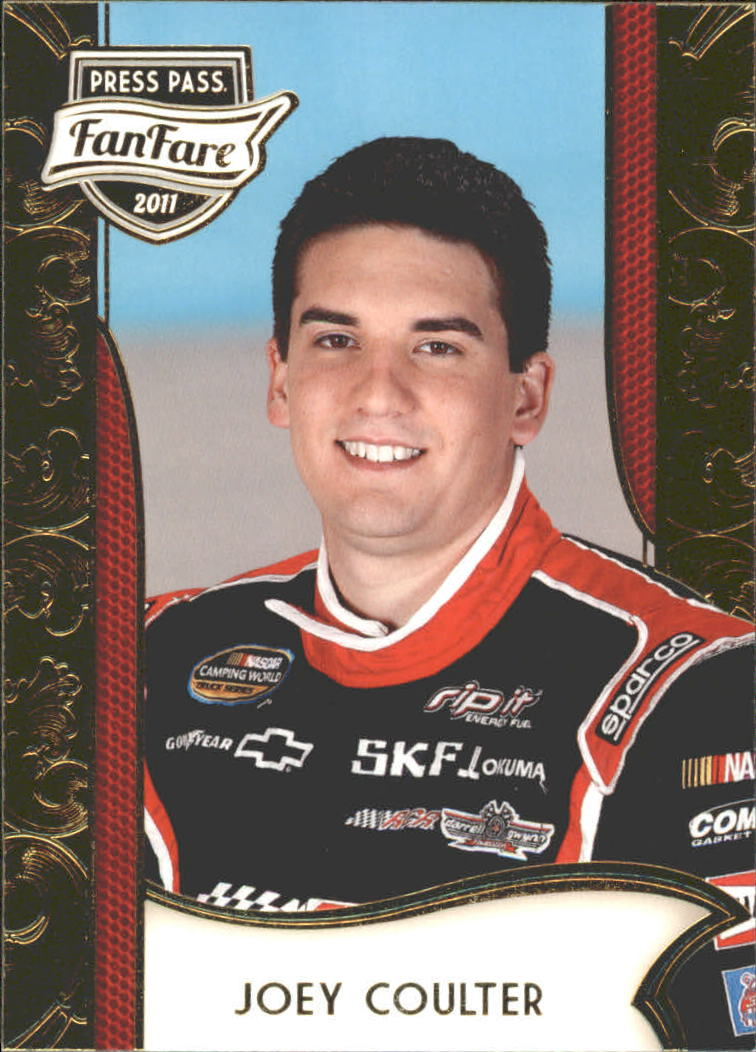 2011 Press Pass FanFare #58 Joey Coulter CWTS RC