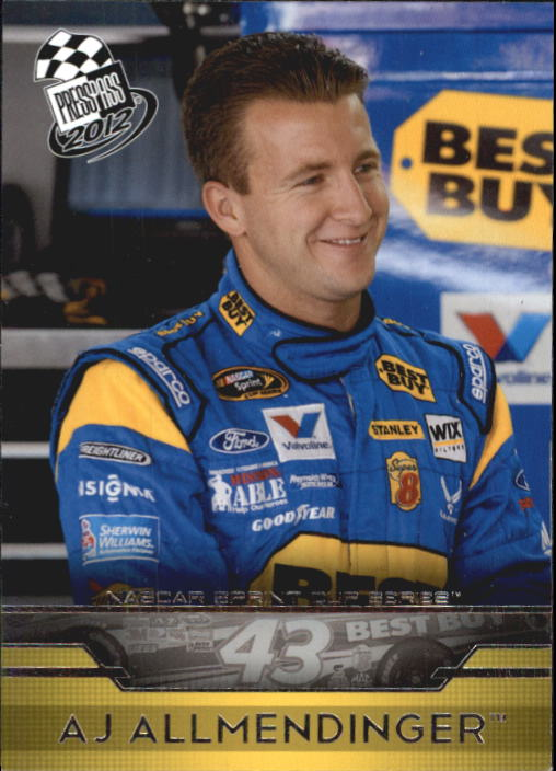 2012 Press Pass #1 A.J. Allmendinger