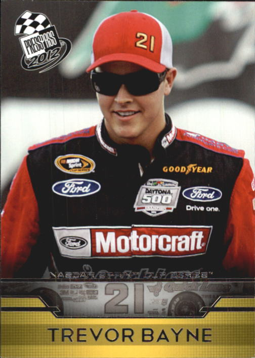 2012 Press Pass #3 Trevor Bayne