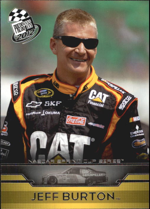 2012 Press Pass #5 Jeff Burton