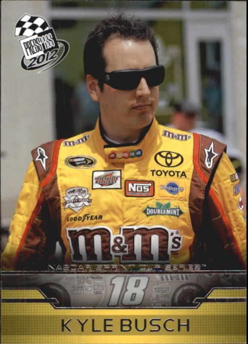 2012 Press Pass #7 Kyle Busch