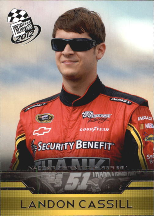 2012 Press Pass #8 Landon Cassill