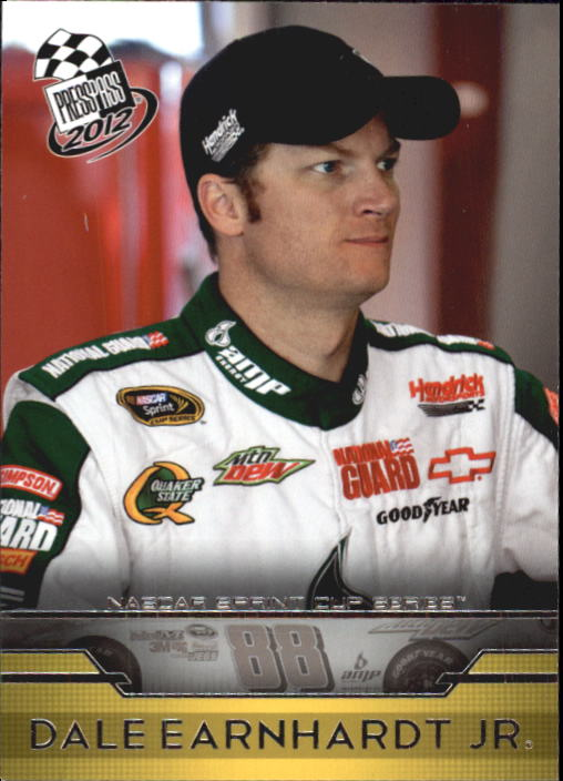 2012 Press Pass #10 Dale Earnhardt Jr.