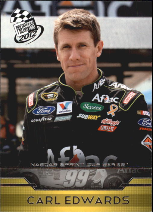 2012 Press Pass #11 Carl Edwards
