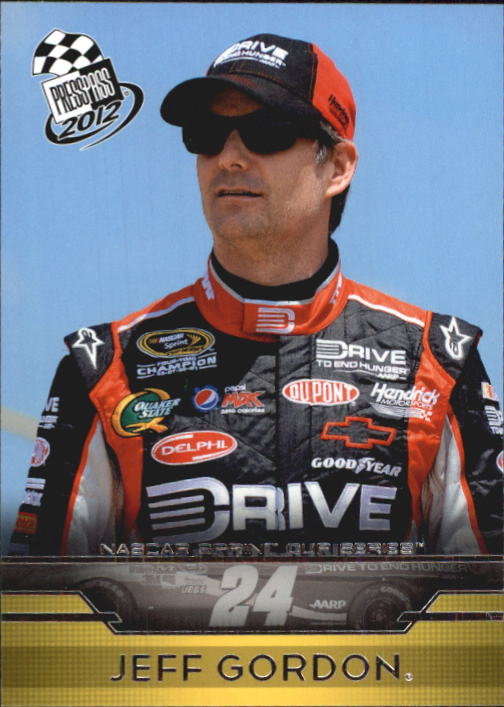 2012 Press Pass #13 Jeff Gordon