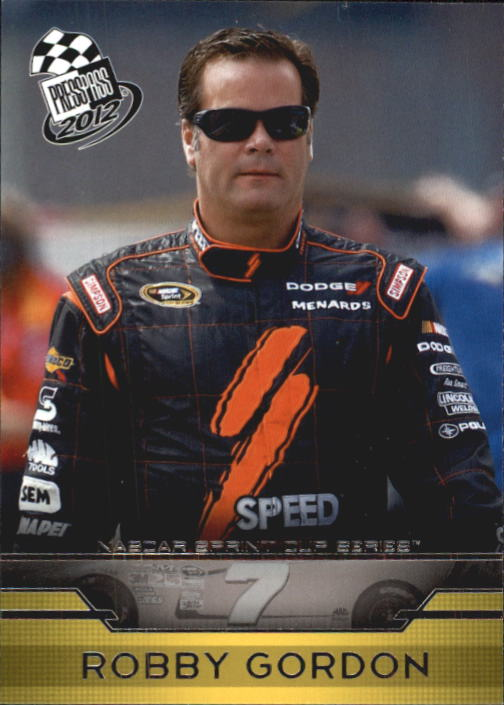 2012 Press Pass #14 Robby Gordon