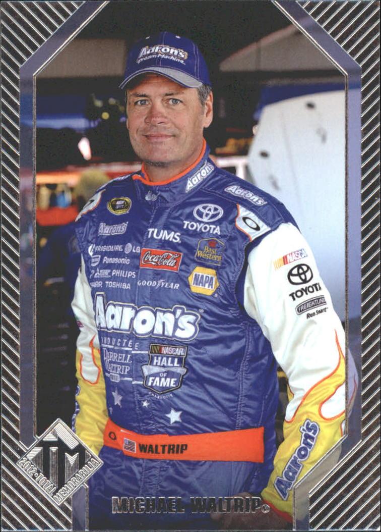 2012 Total Memorabilia #32 Michael Waltrip