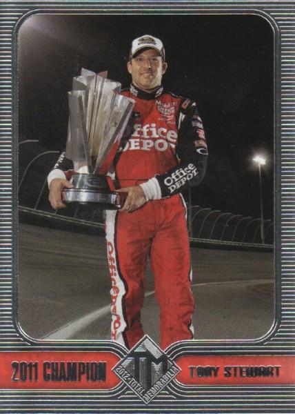2012 Total Memorabilia #0 Tony Stewart Champ