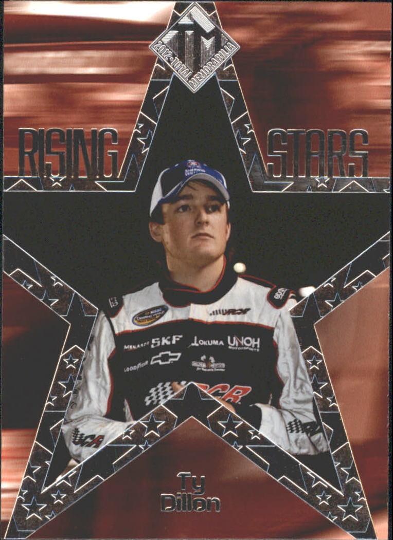 2012 Total Memorabilia Rising Stars #RS2 Ty Dillon